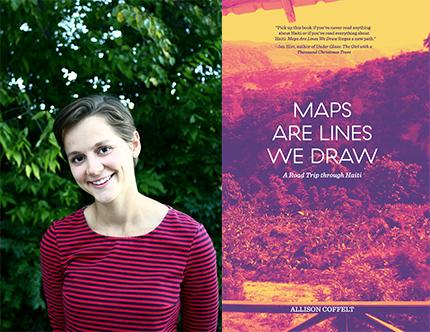 Allison Coffelt, Maps Are Lines We Draw, Left Bank Books