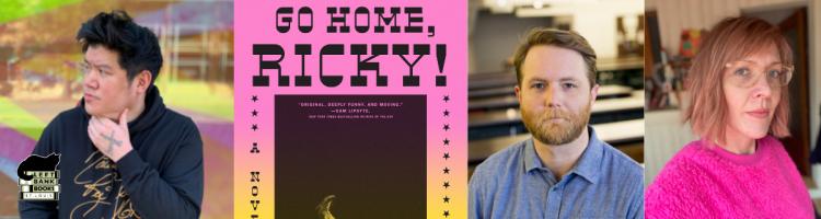 Gene Kwak with Alex Higley & Lindsay Hunter - Go Home, Ricky!